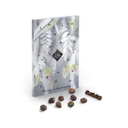 adventskalender med choklad