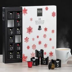 Kaffekalender med kaffekapslar 2020