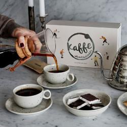 adventskalender med kaffe